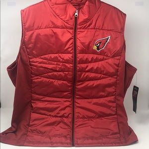 G-III Women's Wing Back Vest, Cardinal, XX-Large